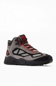 Timberland Men Ripcord Mid Hiker Boots Size US 10M Medium Grey Suede Worang