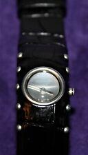 Dolce & Gabbana Armbanduhr Cottage m. schwarzem Lederarmband DWCF0096