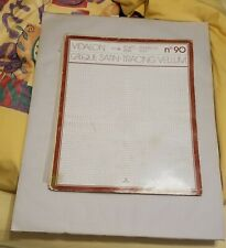 "Vellum satin tracing paper pads 24"" x 19"" and smaller"