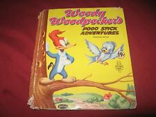 "VINTAGE 1954 ""WOODY WOODPECKER'S POGO STICK ADVENTURES"" WHITMAN TOP-TOP TALES"