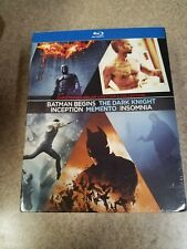 Christopher Nolan Directors Collection (Blu-ray Disc, 2012, 7-Disc Set)