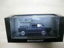 Ford Cortina Mk1 1962 Ambassador Blue Minichamps Model Car 1/43 400082001