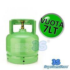 3S BOMBOLA VUOTA con RUBINETTO 7 LT RECUPERO GAS REFRIGERANTE R407c R134A R410A