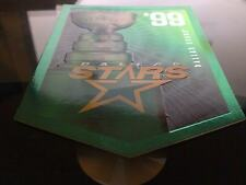 DALLAS STARS STANLEY CUP BANNER Molson Coors Budweiser Panini Rare Promo