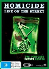 A16 BRAND NEW Homicide - Life On The Street : Series 4 (DVD, 2010, 6-Disc Set)