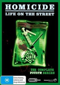 Homicide - Life On The Street : Series 4 (DVD, 2010, 6-Disc Set)