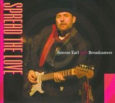 Spread the Love [Digipak] by Ronnie Earl/Ronnie Earl & the Broadcasters (CD, Aug