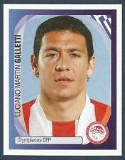 PANINI UEFA CHAMPIONS LEAGUE 2007-08- #276-OLYMPIACOS-ARGENTINA-LUCIANO GALLETTI