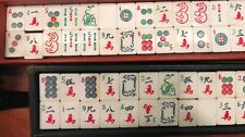 Vintage Mah Jong 66 Mint Green Tiles  Replacement Tiles Three Color