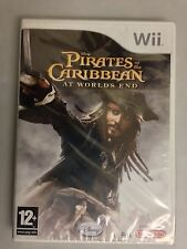 Pirates Of The Caribbean At Worlds End Nintendo Wii New UK Factory Sealed