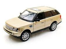 Bburago 1/18 Scale Land Rover Range Rover Sport SUV Gold Diecast Model 12069