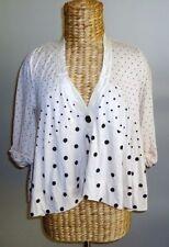 Regular Size Polka Dot Coats & Jackets for Women