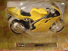 Ducati 748 Gelb  BURAGO 1:18
