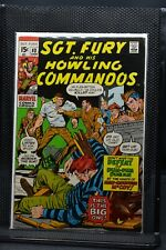 Sgt Fury and His Howling Commandos #83 Marvel Comic 1971 Stan Lee Dick Ayers 7.0