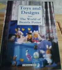 VINTAGE Book Toys & Designs from the World of Beatrix Potter 1992 research