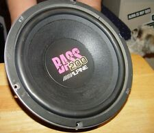 "/////ALPINE MOBILE ELECTRONICS 10"" SUB-WOOFER 200 WATT SWR-258A 8 Ohm OLD SCHOOL"