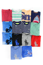 Polo Ralph Lauren Crewcuts Boys Short Sleeve T-Shirts Size 5 6 8 Lot 14