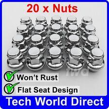 ALLOY WHEEL NUTS - TOYOTA (M12x1.5) X20 LUG BOLT STUD SCREW TOP QUALITY a[A50]