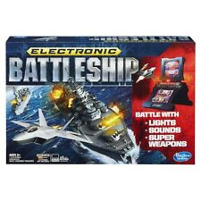 Electronic Battleship Game Classic Milton Bradley Hasbro Advanced Mission Board