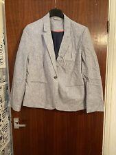 Ladies Pinstriped Blazer Size 16