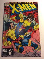 Marvel Comics Uncanny X-Men #277 Comic Book Wolverine Cyclops Starjammers 1991