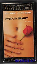 American Beauty Vhs Movie Kevin Spacey Annette Bening