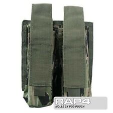 MOLLE 2 X Paintball Pod Pouch per TATTICO VEST (Tiger Stripe) [ GE4 ]