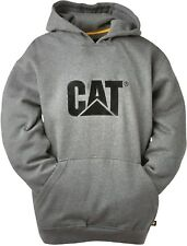 CAT Caterpillar Logo Jersey Sudadera Con Capucha Hombres Resistente Trabajo