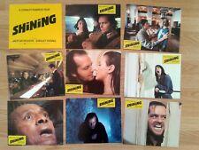 Stanley Kubrick: The Shining - vintage German lobby card set 1980 Jack Nicholson