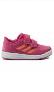 adidas AltaSport CF Kids Girls Boys Junior Running Trainers Pink UK2.5 - UK6.5