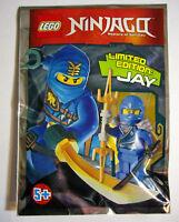 Lego Ninjago Limitierte Mini-Figuren Jay Kai Nya Zane Lloyd Cole OVP Neu