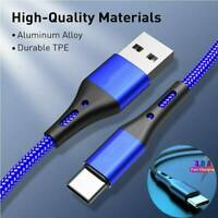 3A Type C Data Sync Fast Charge USB Cable For Samsung Galaxy S8 S9 S10 Note 10
