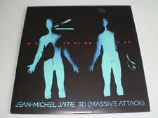 VINYLE 12'' EP JEAN MICHEL JARRE 3D (MASSIVE ATTACK) WATCHING YOU 1000 COPIES
