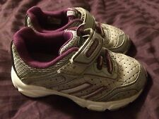 pediped Running tennis shoes girls size 8.5 EU 25 purple