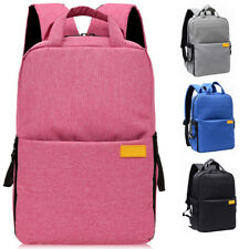 Men Women DSLR Camera Backpack Bag Travel Bag Rucksack Insert Daypack Schoolbag
