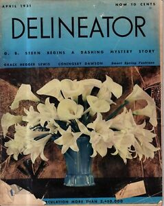 1931 Delineator April - Everybody loves twins; Pilate and Jesus; Model A Tudor