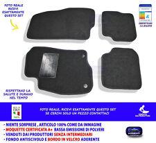 PORTABAGAGLI-TAPPETO per FIAT PUNTO 199 Premium Velluto Antracite anno 2012-2018
