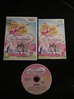 WII : BARBIE E LE TRE MOSCHETTIERE - Completo, ITA ! Dai 7 anni in su!Comp Wii U