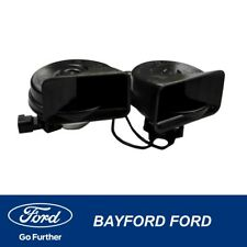 HORN DUAL HORNS WITH BRACKET SUITS ALL FORD FG - NEW  GENUINE FORD PART