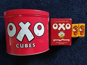 UNUSED OXO CUBES TIN + RECIPES + DIAMOND JUBILEE BOX + MORE!! - FREE P&P!!