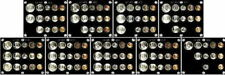GORGEOUS COLLECTION OF 9 DIFFERENT GEM 1947 to 1955 P,D&S U.S. SILVER MINT SETS!