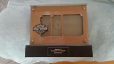 HARLEY DAVIDSON LED 110TH Anniversary PICTURE FRAME, EXCELLENT CONDITION