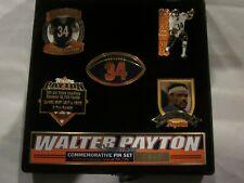 Signature Sports Walter Payton Commemorative 5 Pin Set in Case Brand New #3995