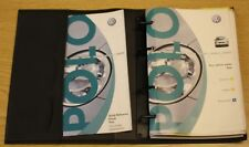 VW POLO HANDBOOK OWNERS MANUAL RADIO SYSTEM GAMMA WALLET 2001-2005 PACK  A-561