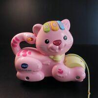 123 Petit chat ABC VTECH ELECTRONICS Disney jouet mécanique musical vocal N6055