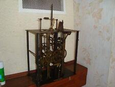 ANCIEN MOUVEMENT PENDULE HORLOGE COMTOISE OROLOGIO OLD CLOCK UHR RELOJ D3