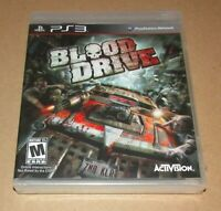 Blood Drive (Sony PlayStation 3) Brand New / Fast Shipping