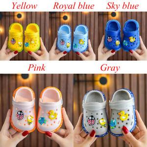 Summer Kids Cartoon Shoes Slippers for Boys Girls Toddler Beach Flip Flops Shoes