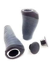 XLC poignées ergonomique gr-s04 fahrrad-lenekrgriffe asymétrique 135/92 mm Noir
