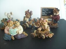 Boyds Bears & Friends Bearstone Figurine Collection ~ Lot of 5 Figurines
